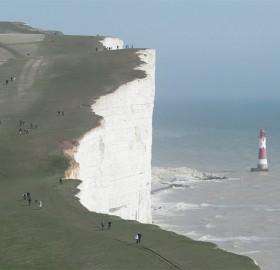 beachy head cliffs, england
