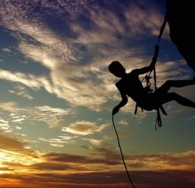 dusk climbing