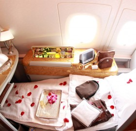 first class seat in emirates airbus