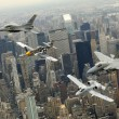 heritage flight over manhattan