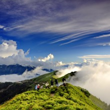 mountain hehuan, taiwan