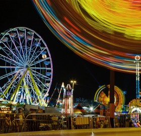 night of ferris wheels