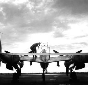 pilot and the lockheed p-38