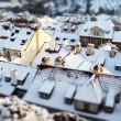 prague roofs tilt shift