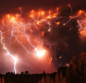 puyehue volcano chile