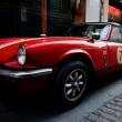 red triumph spitfire