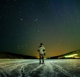 stars in the sky, sweden