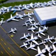 tilt shift airport