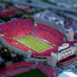 tilt shift stadium