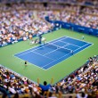 tilt shift tennis