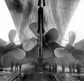 titanic`s propellers