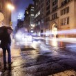 a night on the streets of new york