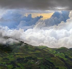 andean fields, ecuador