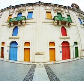 colorful doors of malta