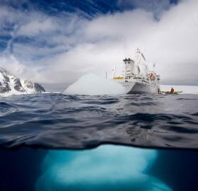 iceberg of antarctica