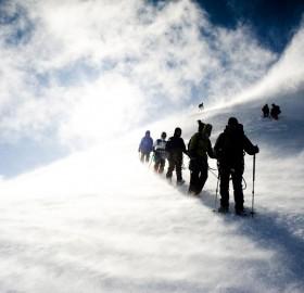 windstorm on mont blanc