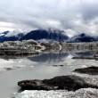 advancing alaskan glacier