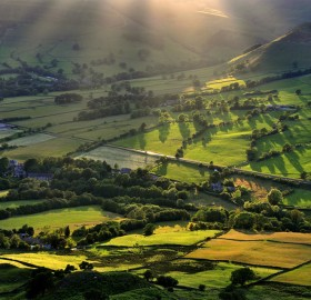 edale england landscape