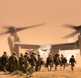 marines going into tiltrotor squadron
