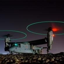 osprey vertical lift aircraft in iraq