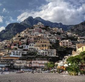 positano village, italy