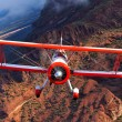 red baron boeing above arizona