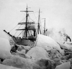 ships bear and s.s. corwin, alaska, 1900