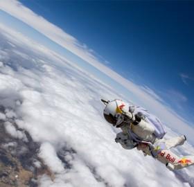 stratospheric skydive