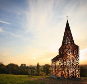 transparent church, belgium