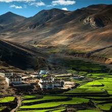 village of himalaya