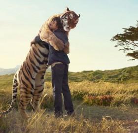 a hug from a friend