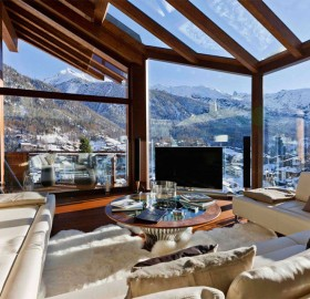 luxury switzerland chalet
