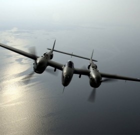 p-38 lightning over virginia