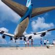 st. maarten plane landing