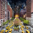 park avenue, day to night