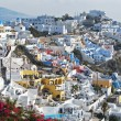 the colors of santorini