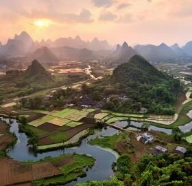 fields of china
