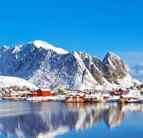fishing village of lofoten islands