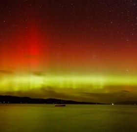southern lights of tasmania