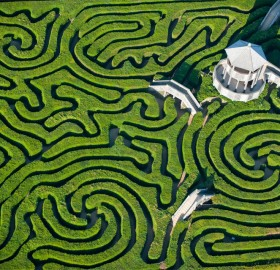 largest maze in britain