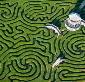largest maze in britain
