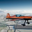 extreme air stunt plane