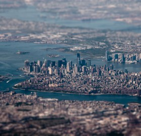 new york city tilt shift