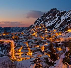 pietrapertosa village, italy