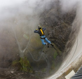 base jumping, switzerland