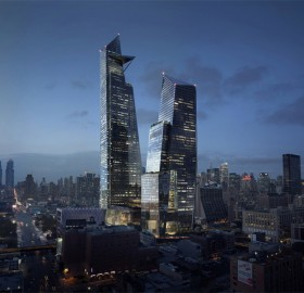 future hudson yards towers, new york
