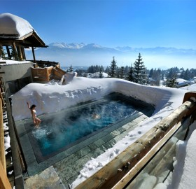 hot pool at cold alps