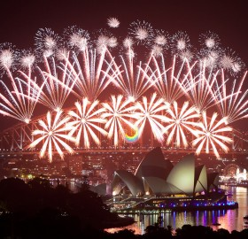 happy new year from sydney, australia