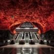 inside stockholm metro