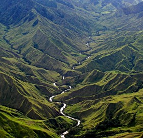 menya river, papua new guinea